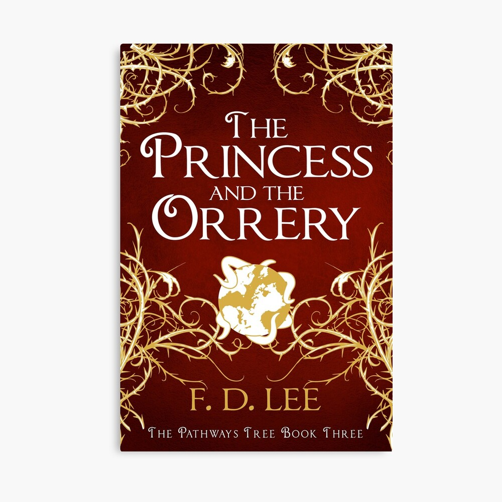 The Princess And The Orrery Cover Canvas Print