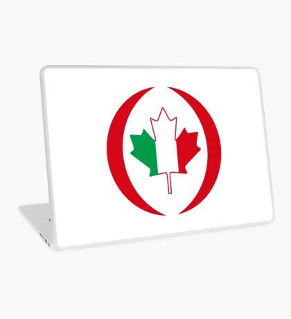 Italian Canadian Multinational Patriot Flag Series Laptop Skin