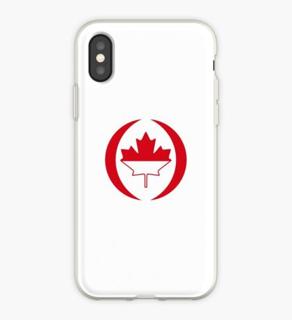 Indonesian Canadian Multinational Patriot Flag Series iPhone Case