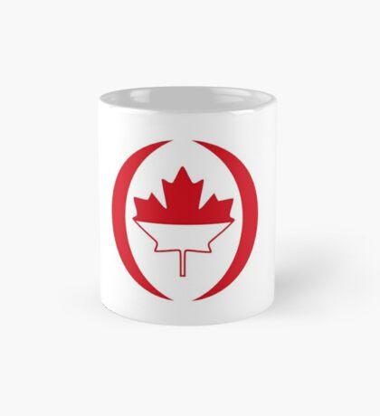 Indonesian Canadian Multinational Patriot Flag Series Mug