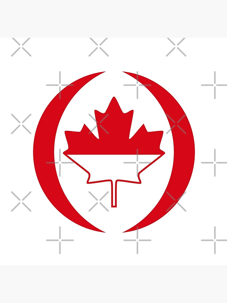 Indonesian Canadian Multinational Patriot Flag Series by carbonfibreme