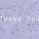 Thank You Card by ellenmueller