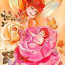 MY LITTLE ROSEBUD by Judy Mastrangelo