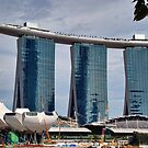 Marina Bay Sands Singapore by Adri  Padmos