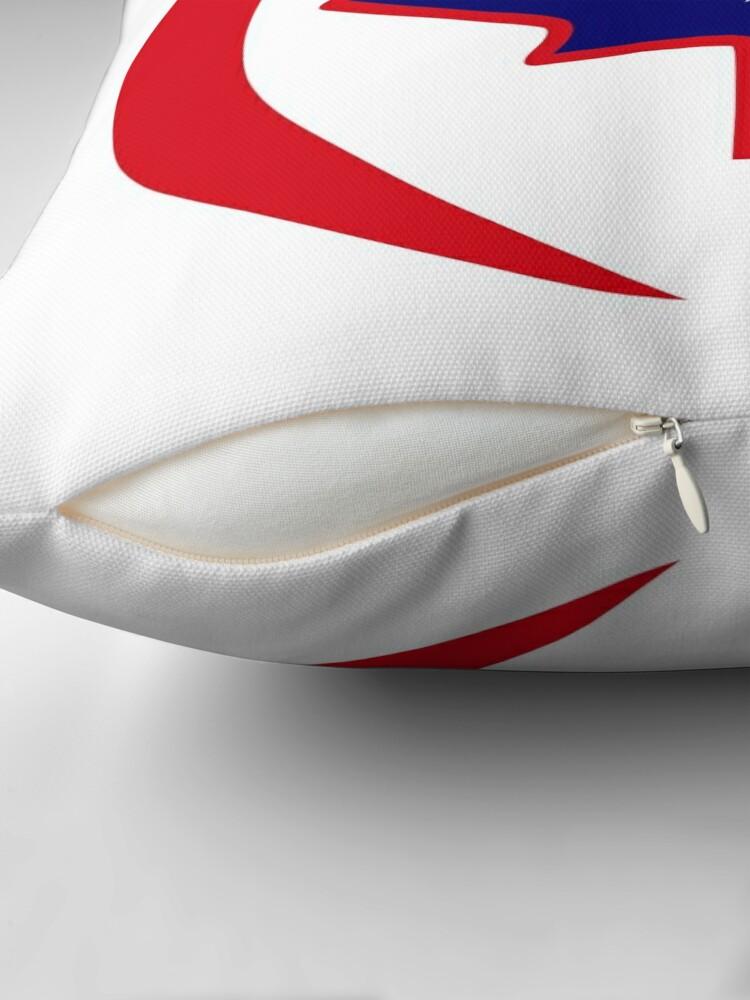 Alternate view of Kiwi Canadian Multinational Patriot Flag Series Throw Pillow