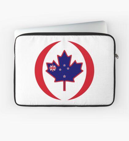 Kiwi Canadian Multinational Patriot Flag Series Laptop Sleeve
