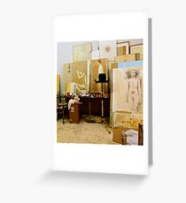 Artists Studio Greeting Card