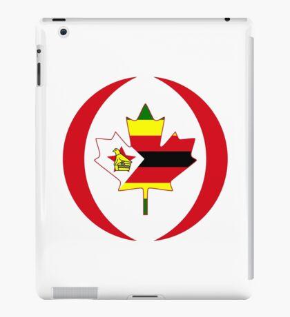 Zimbabwean Canadian Multinational Patriot Flag Series iPad Case/Skin
