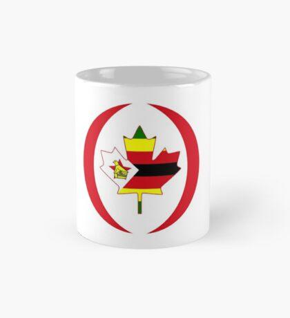 Zimbabwean Canadian Multinational Patriot Flag Series Mug