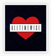 Alltimewise Transparent Sticker