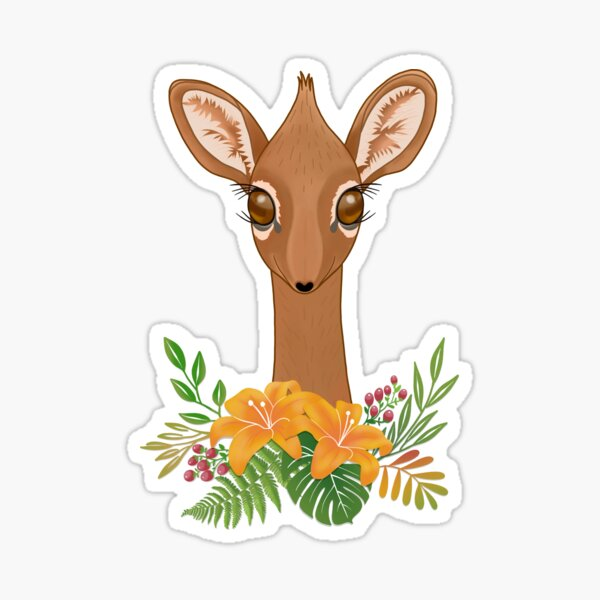 Dik-Dik Baby Antelope Sticker