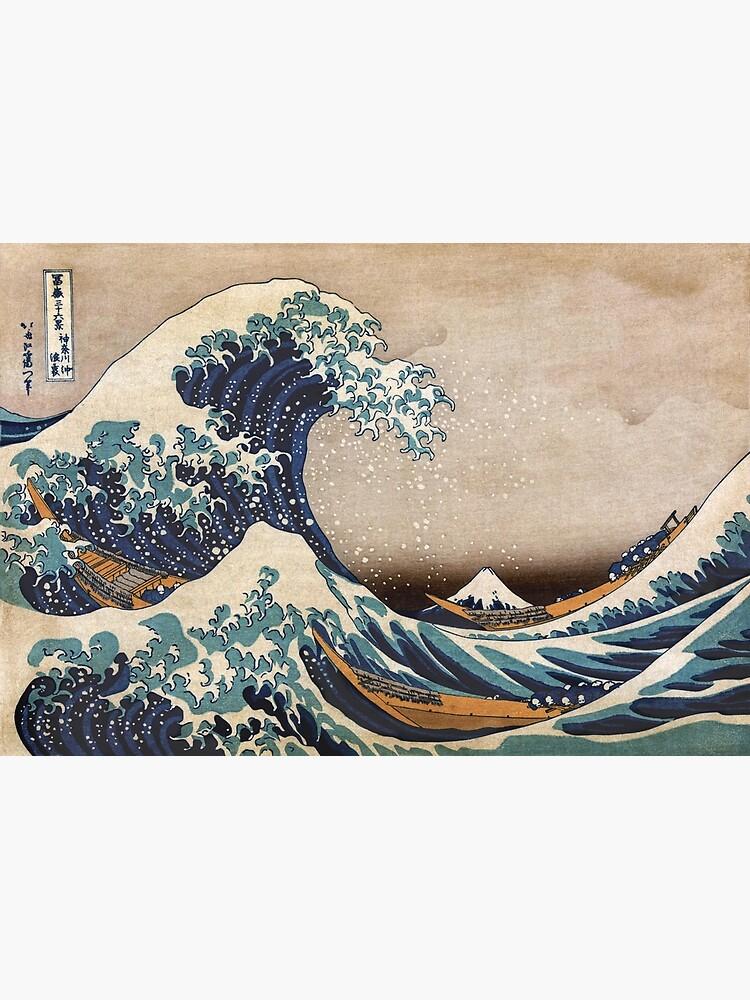 Die große Welle vor Kanagawa von VintageArchive