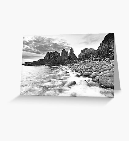 Until the sun lights up the daytime... Greeting Card