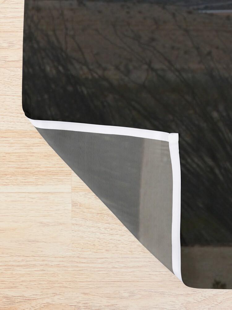 Alternate view of Terlingua Sunset Shower Curtain