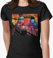Nebular Scream Womens Fitted T-Shirt