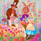 MAD HATTER'S TEA PARTY by Judy Mastrangelo