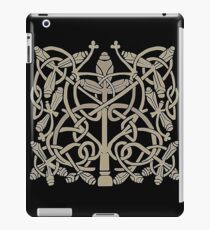 Celtic Leaves Knotwork One iPad Case/Skin