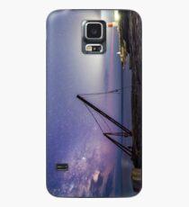 Milkyway above Portland Bill Lighthouse Case/Skin for Samsung Galaxy
