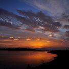 Sunrise over the Estuary by Finbarr Reilly