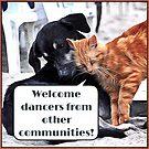 Milonga Cat - Welcome Dancers From Other Communities by infinitetango
