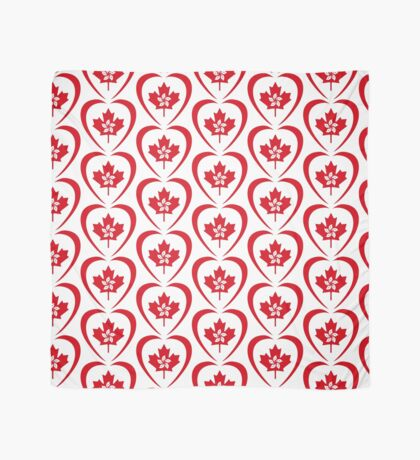 Hong Konger Canadian Multinational Patriot Flag Series (Heart) Scarf