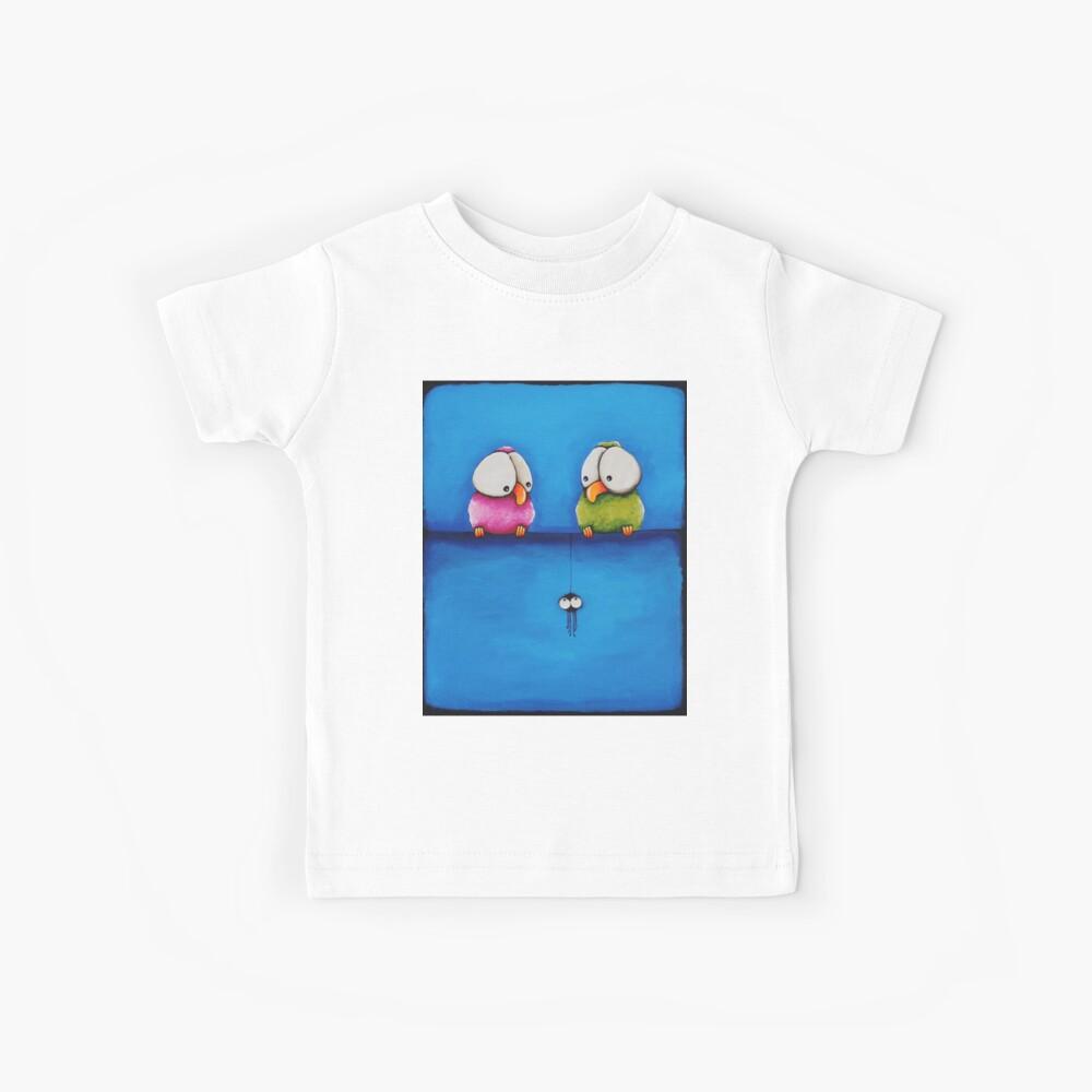 Huch eine Spinne Kinder T-Shirt