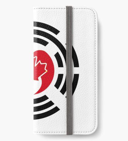 Korean Canadian Multinational Patriot Flag Series iPhone Wallet