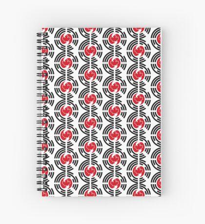 Korean Canadian Multinational Patriot Flag Series Spiral Notebook