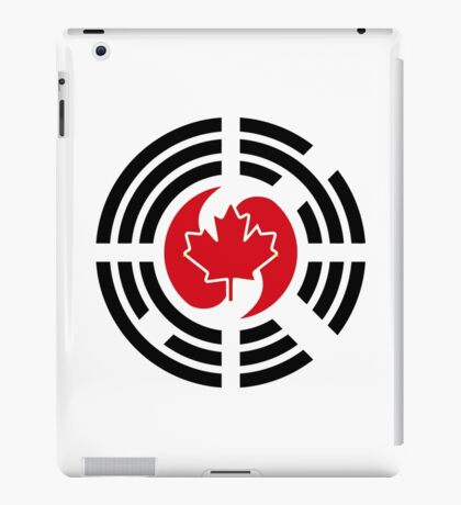 Korean Canadian Multinational Patriot Flag Series iPad Case/Skin