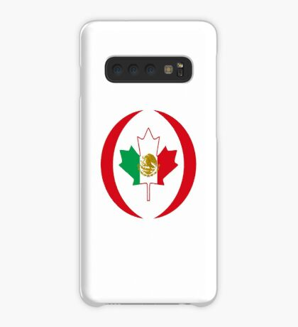 Mexican Canadian Multinational Patriot Flag Series Case/Skin for Samsung Galaxy