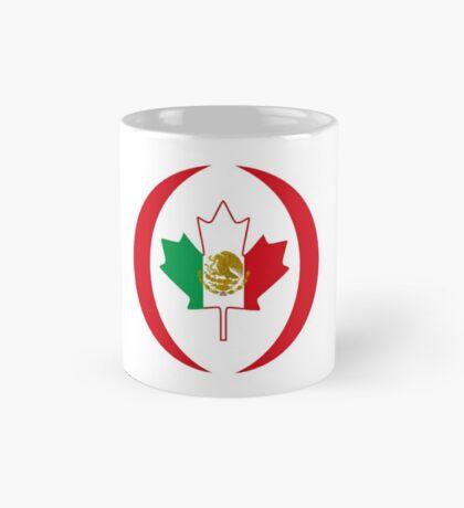Mexican Canadian Multinational Patriot Flag Series Mug