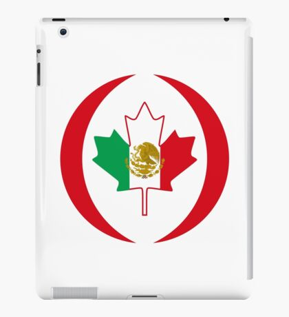 Mexican Canadian Multinational Patriot Flag Series iPad Case/Skin