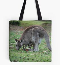Mother & Joey in the wild. Tote Bag