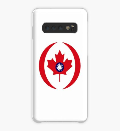 Taiwanese Canadian Multinational Patriot Flag Series Case/Skin for Samsung Galaxy