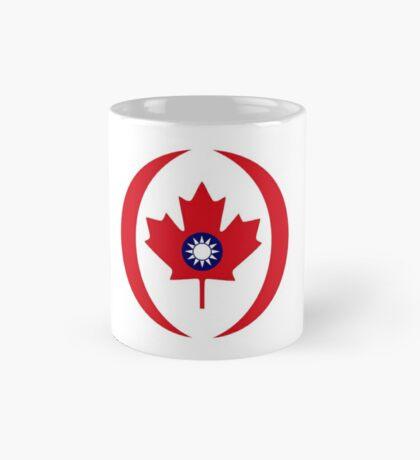 Taiwanese Canadian Multinational Patriot Flag Series Mug