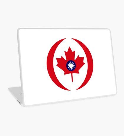Taiwanese Canadian Multinational Patriot Flag Series Laptop Skin