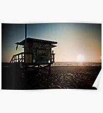 Venice Beach Baywatch Poster