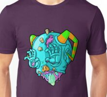 monster head with hands for eyes Unisex T-Shirt