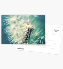 Not sure when you stop thinking dandelions are beautiful... Postcards