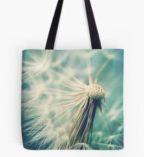 Not sure when you stop thinking dandelions are beautiful... Tote Bag