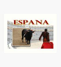 Espana Art Print