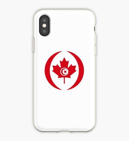 Tunisian Canadian Multinational Patriot Flag Series iPhone Case