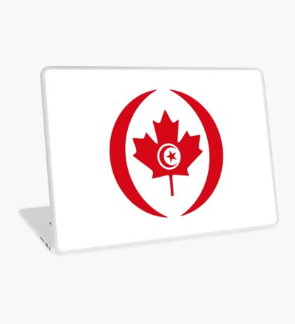 Tunisian Canadian Multinational Patriot Flag Series Laptop Skin