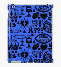 CHRISTIANITY (BLUE) iPad Case/Skin