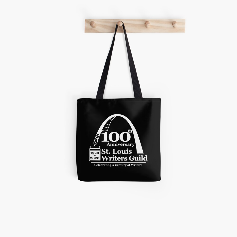 St. Louis Writers Guild 100th Anniv - Logo White Tote Bag