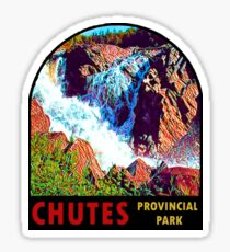 Chutes Provincial Park Ontario Vintage Travel Decal Sticker