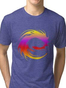 Colorful dragon - Eragon Tri-blend T-Shirt