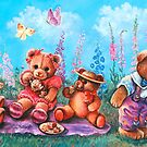 TEDDY BEAR PICNIC by Judy Mastrangelo