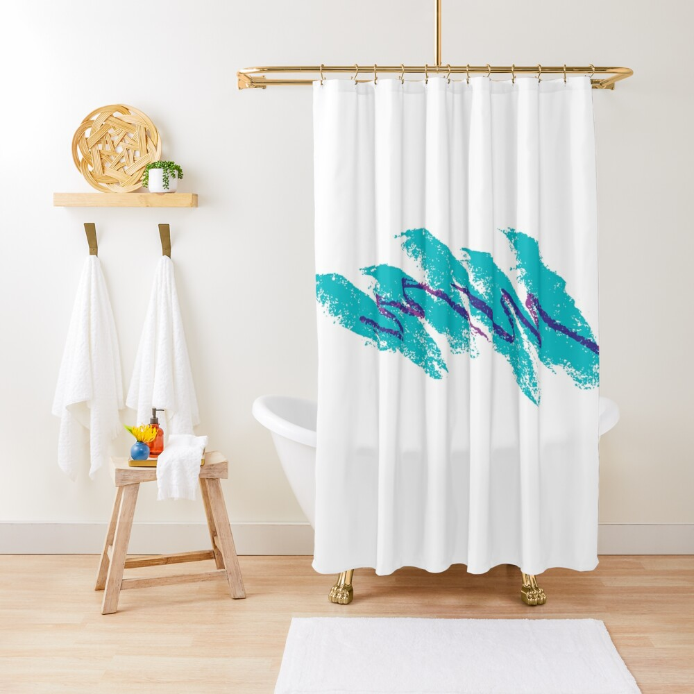 90's Jazz Solo Cup Shower Curtain