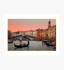 Il Bello Canal Grande Art Print